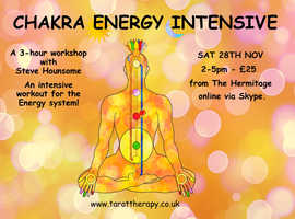 ONLINE CHAKRA ENERGY INTENSIVE WORKSHOP