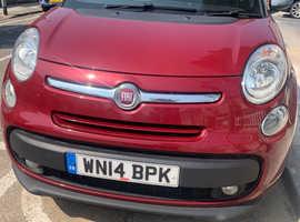 Fiat 500l, 2014 (14) Red mpv, Manual Diesel, 81244 miles