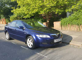 Mazda MAZDA 6, 2004 (04) Blue Hatchback, Manual Petrol, 89,000 miles