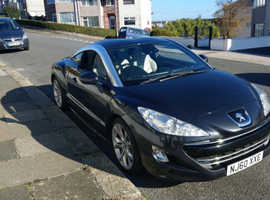Peugeot RCZ, 2010 (60) Grey Coupe, Manual Petrol, 91,000 miles