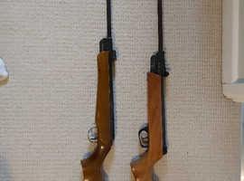 Air Rifles - Webley Hawk and ASI Sniper