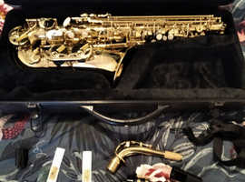 Alto Saxophone (Volt by Voggenreiter Beginner) Brand New & Unused.
