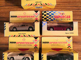 Excellent Condition, 5x Vintage Maisto / Shell Supercar / Sports Car Collections