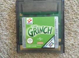 Grinch Gameboy Game (free postage)