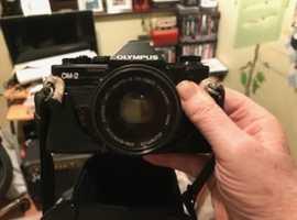 Olympus OM-2 Spot Program with Zuiko 50mm f1.8 lens