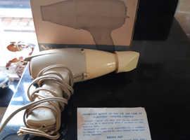 Vintage 1960's Boxed Moulinex Hairdryer G.W.O