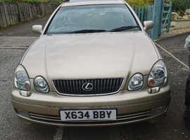 Lexus Gs, 2001 (X)  Saloon, Automatic Petrol, 95,009 miles