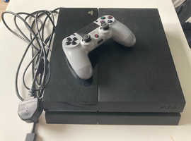 PS4 500gb plus 6 games and one controller