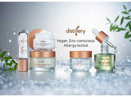 Vegan, Eco-conscious full skincare set. Clean beauty, alcohol free, fragrance free.