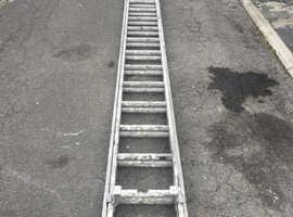 13 tread aluminium Double Ladders £50