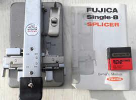 Vintage - Fujica Single 8 Film Splicer - Roll Type &  MINETTE DF-SPLICER for Super 8 Flim