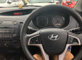 Hyundai i20, 2009 (09) Black Hatchback, Manual Petrol, 66,800 miles