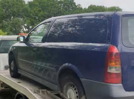 2004 Vauxhall Astra Van .. spares repair