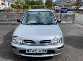 Nissan Micra, 2000 (W) Silver Hatchback, Manual Petrol, 45,711 miles
