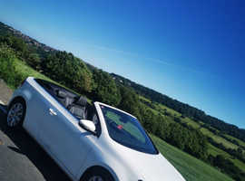 Volkswagen Golf, 2013 (63) white convertible, Manual Diesel, 65,830 miles