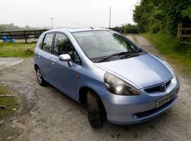 Honda Jazz, 2004 (auto) Blue Hatchback, Petrol, 62,005 miles