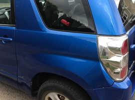 Suzuki Grand Vitara, 2007 (57) Blue Estate, Manual Petrol, 124,000 miles