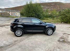 Land Rover Range Rover Evoque, 2014 (64) Black Estate, Manual Diesel, 92,828 miles