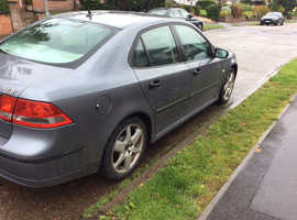 Saab 9-3, 2007 (57) Grey Saloon, Manual Diesel, 149,000 miles
