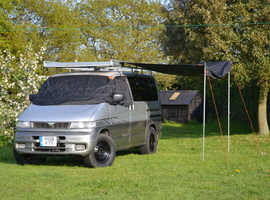Exceptional professionally newly converted Bongo campervan
