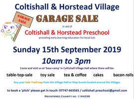 Coltishall & Horstead Village Garage Sale
