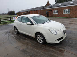 Alfa Romeo Mito, 2010 (60) White Hatchback, Manual Petrol, 78,183 miles
