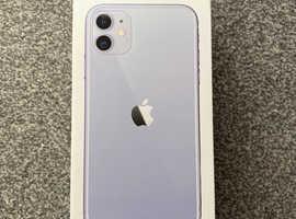 Apple iphone 11 128gb purple 1 month old!!