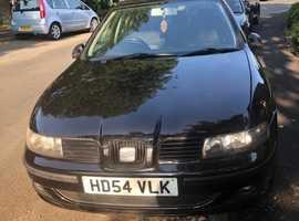 Seat Leon SX, 2004 (54) Black Hatchback