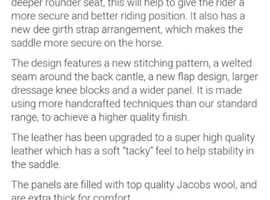 Saddle Company Opulence saddle
