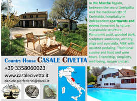 ITALY - hospitality in independent apartments and rooms immersed in nature - Panoramic pool