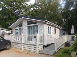 Private sale lodge at Beauport, Hastings. Delta Canterbury 2016, 2 bedrooms
