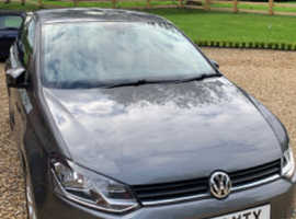 Volkswagen Polo Match Edition, 2017 (17) Grey Hatchback, Manual Petrol, 53178 miles