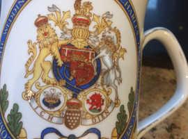 Charles and Diana wedding mug 1981