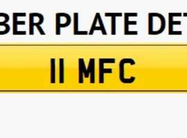 11 MFC      Ultimate Middlesboro Football Club Private Plate