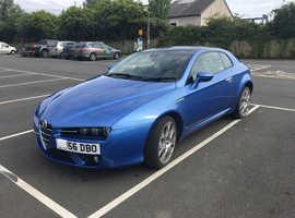 Alfa Romeo Brera, 2006 (56) Blue Coupe, Manual Diesel, 57,000 miles