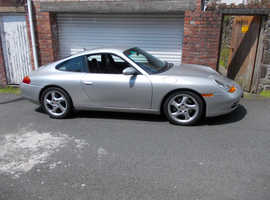 Porsche 911 CARRERA, 1998 (R) silver coupe, Automatic Petrol, 16584 miles OFFERS INVITED.