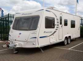 Bailey caravan 2011