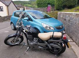 Motorbike custom suzuki