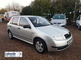 Skoda Fabia 1.4 Litre 5 Door Hatch, New MOT, Full Service History, Lovely Condition, Only 2 Owners.