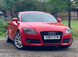 Audi TT, 2007 (07) Red Coupe, Manual Petrol, 68,700 miles