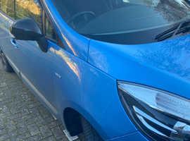 Renault Scenic, 2016 (16) Blue MPV, Manual Diesel, 46,800 miles