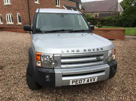 Land Rover Discovery, 2007 (07) Silver Estate, Automatic Diesel, 142,000 miles