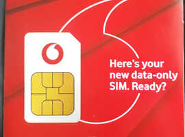 Vodafone Sim Card - New and Sealed Pay As You Go PAYG Official SIM 11 AVAILABLE