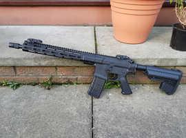 Custom M4 AEG w/ Noveske Gen III body & PTS Mega Arms rail