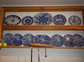 Bespoke plate rack professionally made by carpenter