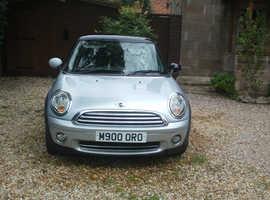 Mini MINI, 2009 ,1.4, One private reg   Silver Hatchback, Manual Petrol, New mot, No advisories ,Stunning