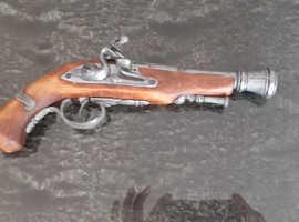 2 Replica Flintlock Pistols