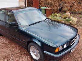 BMW 5 Series, 1994 (M) Green Saloon, Manual Petrol, 67,000 miles