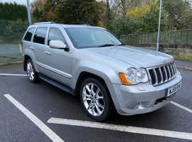 Jeep Grand Cherokee, 2009 (59) Silver Estate, Automatic Diesel, 97,009 miles
