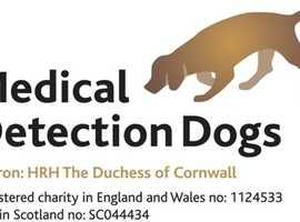 Medical Detection Dogs fundraising at Tesco Leighton Buzzard